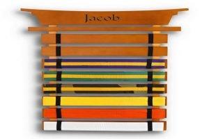 Martial Arts Belt Display Rack Woodworking Plans
